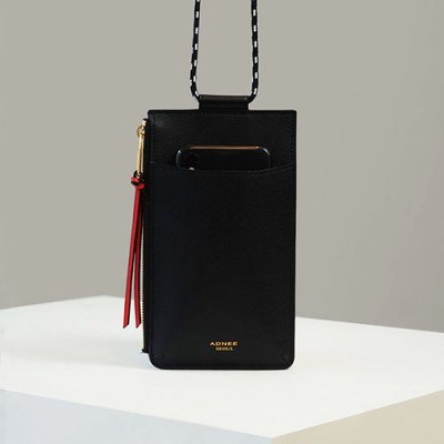 [ADNEE] CELL PHONE BAG cell phone bag_JUST BLACK(006002000001)