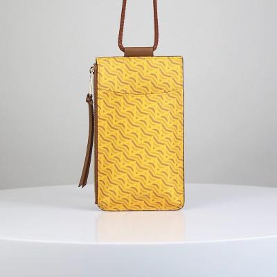 [ADNEE] CELL PHONE BAG cell phone bag_MONOGRAM MUSTARD(006002000009)