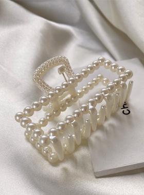 真珠四角切り上げ頭トングピン