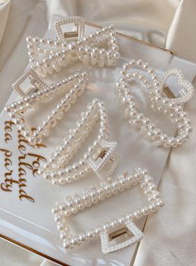 ライト真珠トングピン