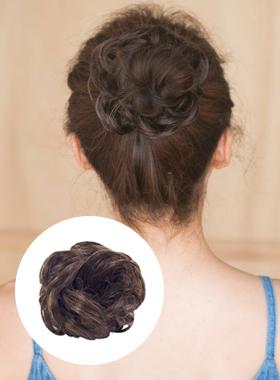ボリューム団子もつ糞髪のかつらの毛ストラップ