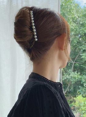 真珠切り上げ頭ビトピンヘアピン