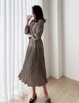 MOOD百褶連衣裙 C083070