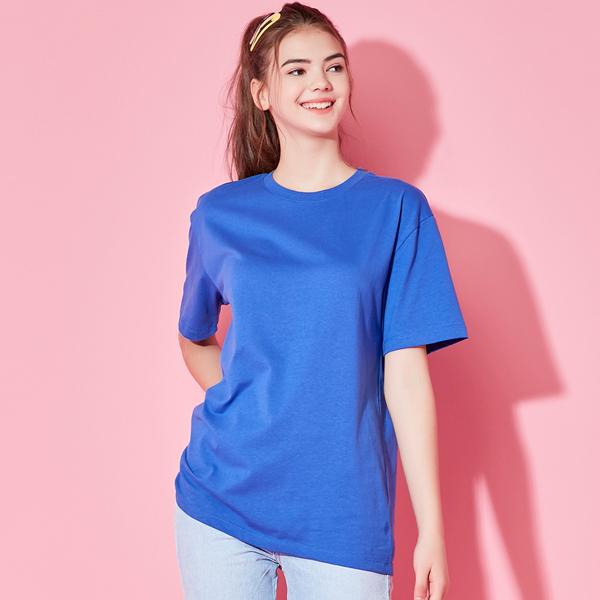 All Day短袖T恤衫宝蓝色