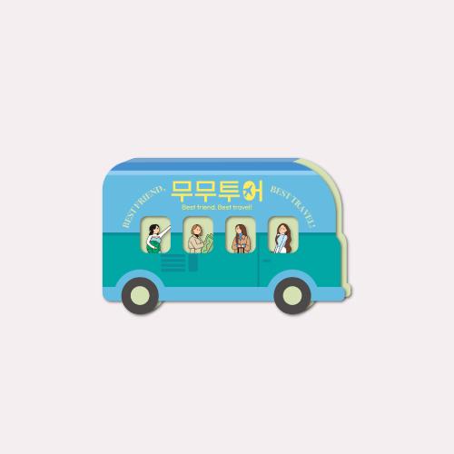 [MOOMOO TOUR] BADGE SET