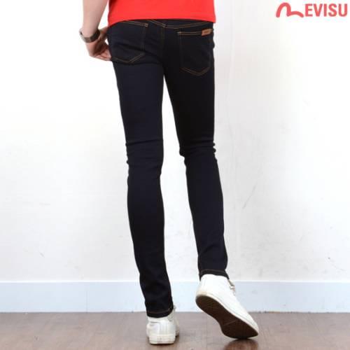 EJ9JP201_YE  -  MEN紧身裤牛仔裤/牛仔裤