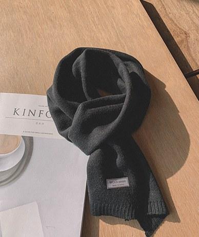 Delo针织围巾