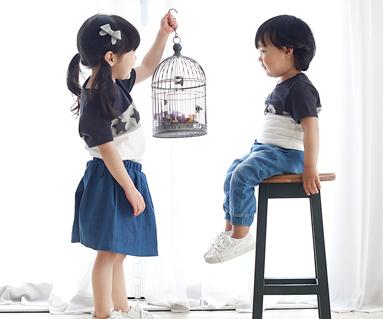 My Star圆领婴儿短袖体恤衫_16B12