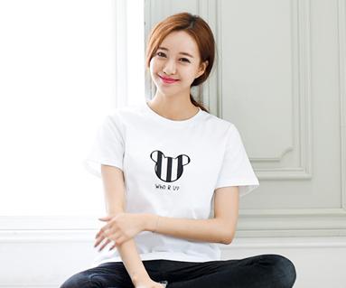 迷你家庭短袖体恤/妈妈/ 15B28