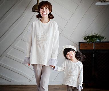 皇家丹迪妈妈和宝宝长袖_17A10