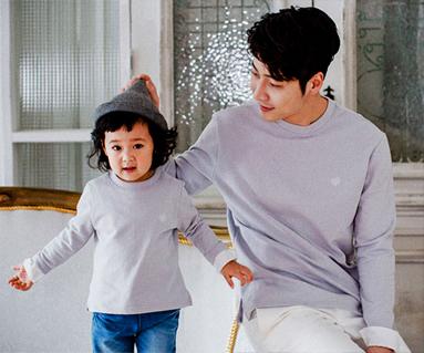 苏梅剪切爸爸和宝宝长袖_17A08