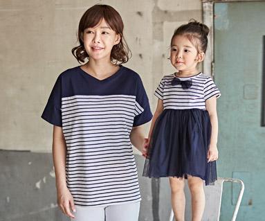 "<font color=""ffffff"">[家庭健康与家庭外观] <br></font> Chloé母婴婴儿短袖体恤衫_18B12"