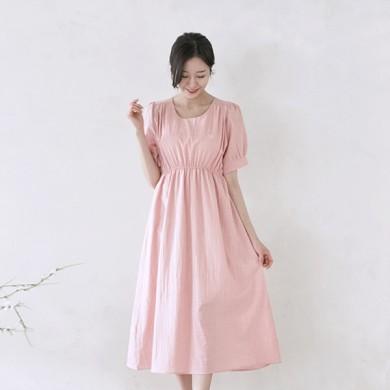 伊丽莎(Elisha)短袖体恤女性连衣裙21B11W /全家福,全家福服装