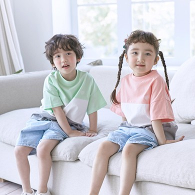 酸甜的短袖体恤儿童21B10K /全家福,全家福服装