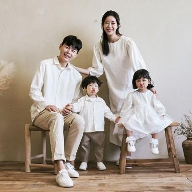 白色天使长袖家庭21C06/全家福