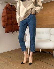Modern denim pants
