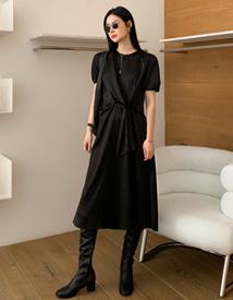 Olve sateen dress