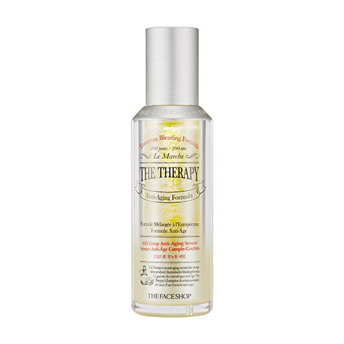 [The Face Shop] Therapy Oil Drop抗衰老皮肤