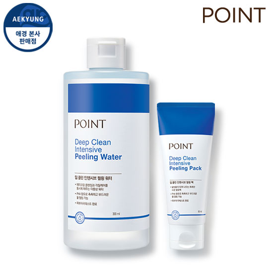 Point Deep CLEAN强效香皂二重奏(Shock Water + Soap Pack)