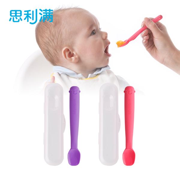 硅胶婴儿勺(小) WSB234