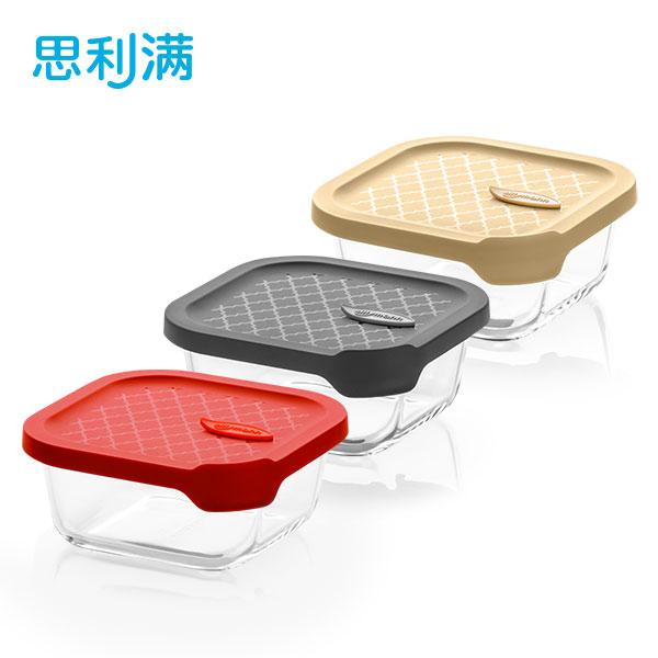烤箱玻璃密封容器 500ml (正方形) WGK5050