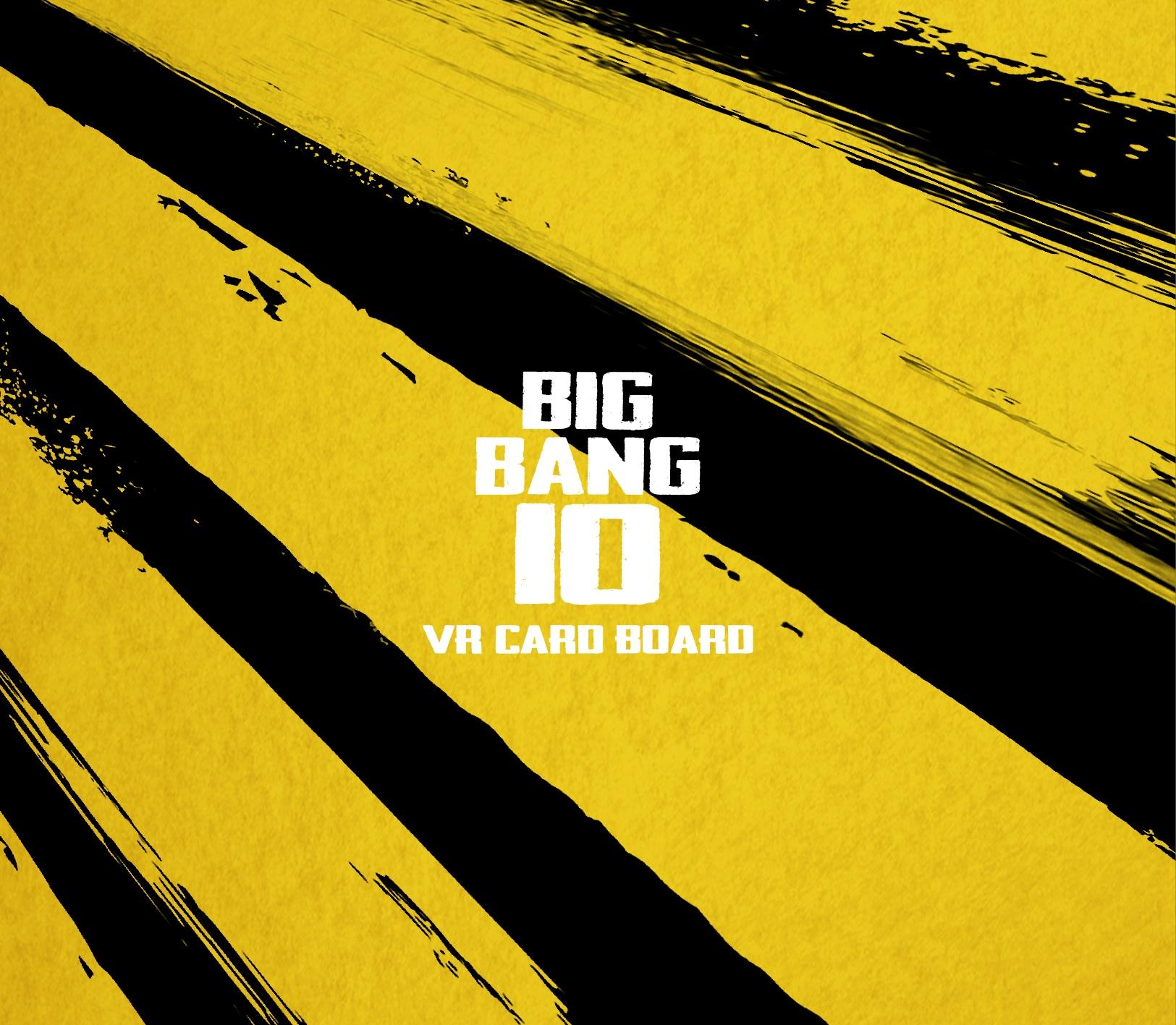 BIGBANG10展览:A至ZX VR卡板