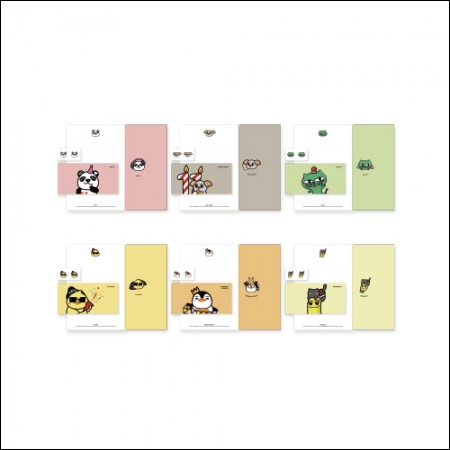 2PM - A11 TIME 2PM OFFICIAL MD / 편지지 세트(LETTER SET)