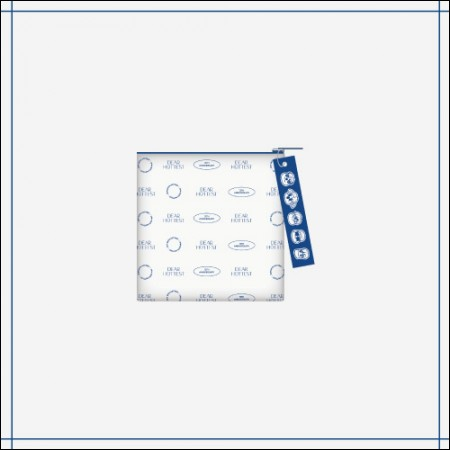 2PM [Dear. HOTTEST] OFFICIAL MD 지퍼 파우치 ZIPPER POUCH