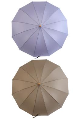 P9707 木柄中性长伞(4color)