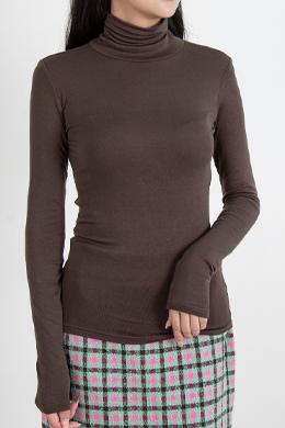 P9281ロングスリーブスリムポーラTシャツ