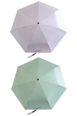 P9703無知コーティング傘兼用3段量産(7color)