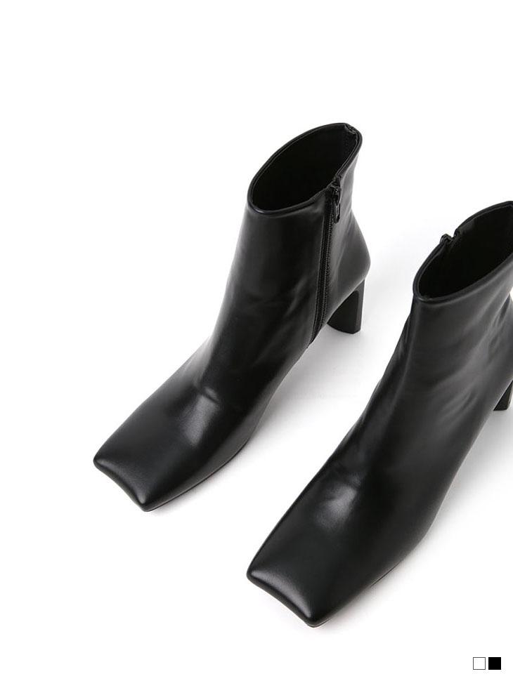 AR-2538 波浪重点踝靴跟鞋