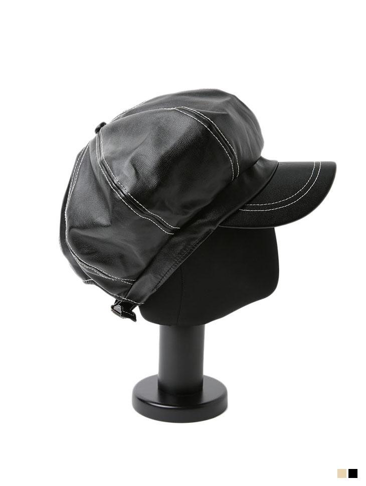 AC-617 皮革新闻男孩帽