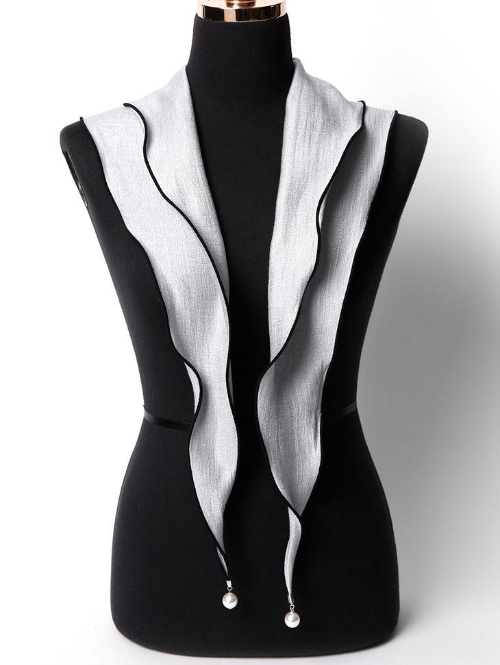 AS-1446 珍珠重点领巾