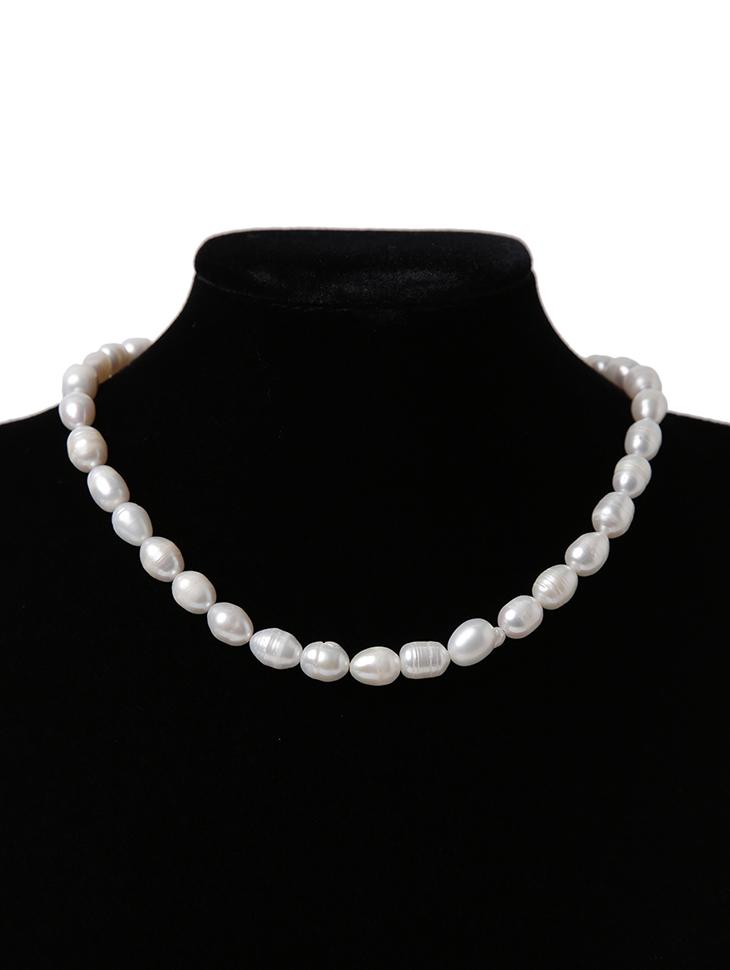 AJ-4942 项链*天然淡水珍珠*