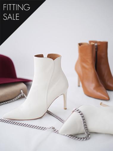 PS2082 真实皮革踝靴跟鞋 *手工制作* *试穿优惠*