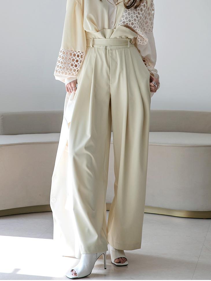 P2379 高腰宽裕宽裤(腰带组合)