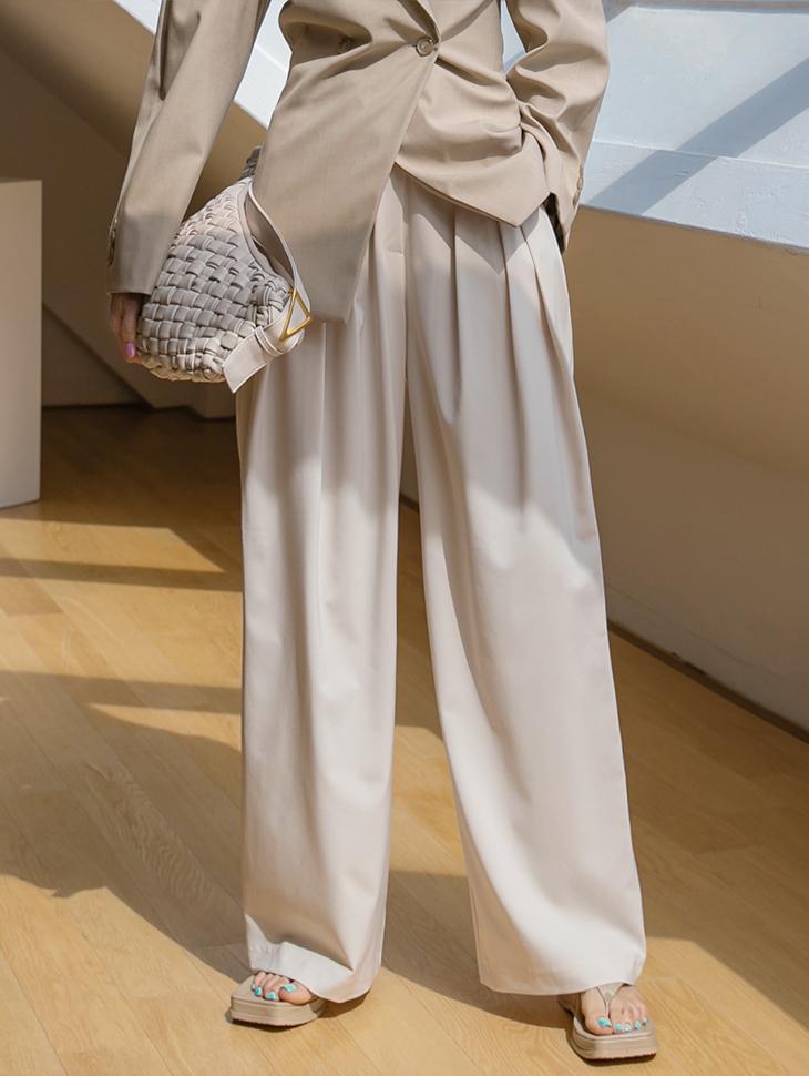 P2395 皱褶宽裕宽裤