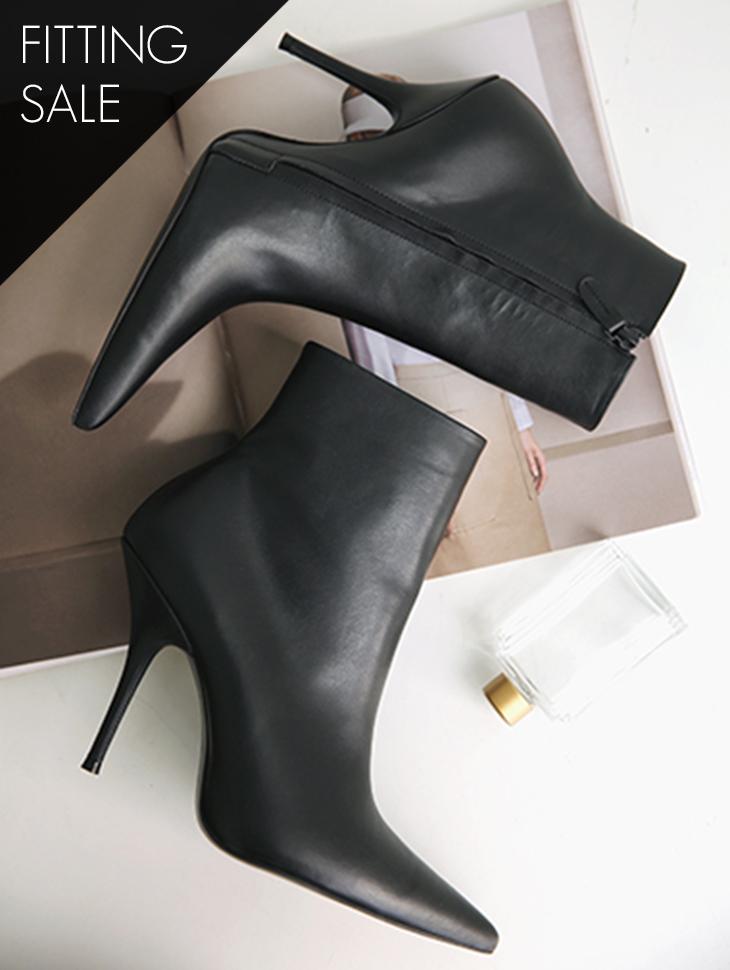 PS2103 女人味曲线踝靴*手工制作*试穿优惠*
