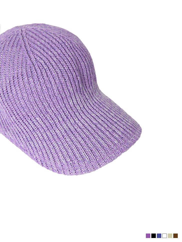 AC-665 简约麻布波纹状的帽