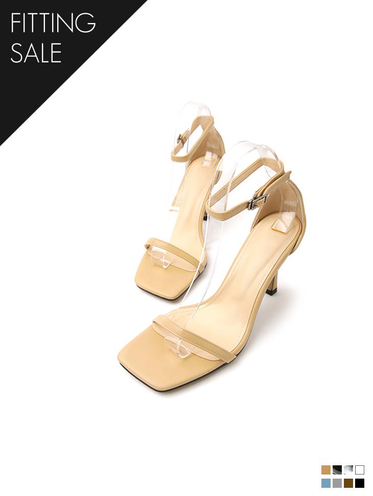 PS2245 薄绑带玛莉珍高跟鞋凉鞋*试穿优惠*