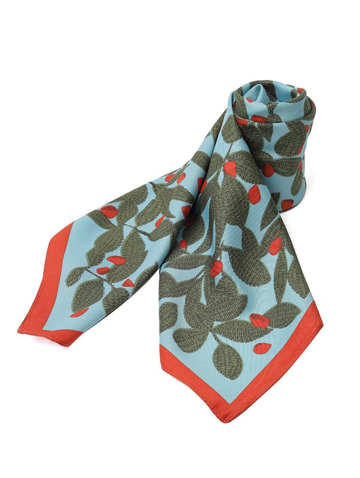 AS-1522 配色木印刷领巾