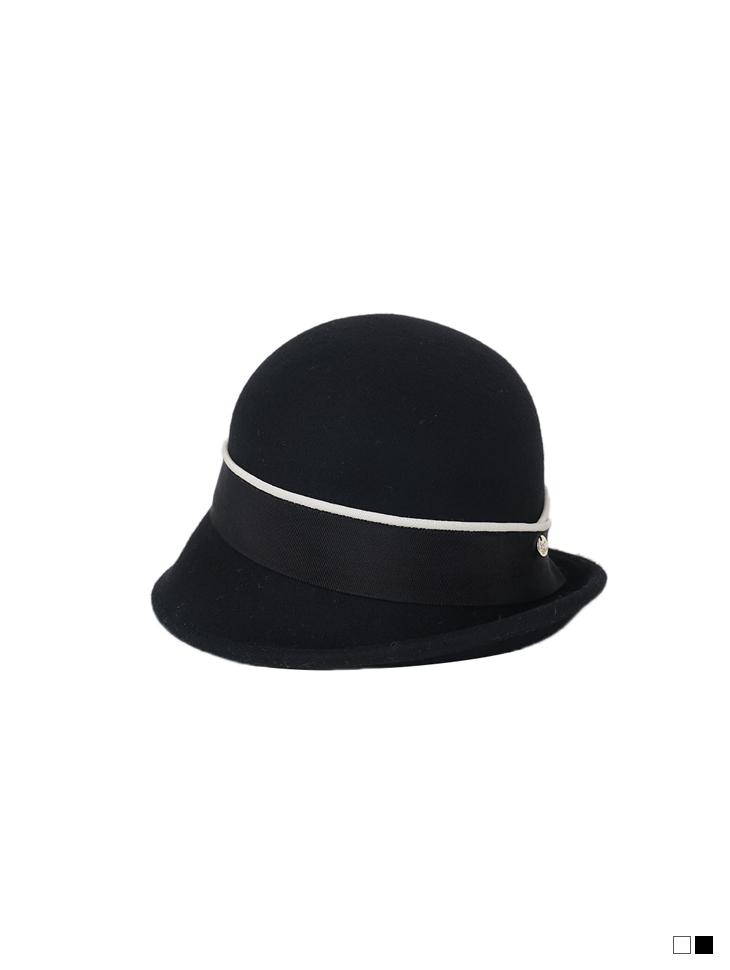 AC-688 羊毛配色线卓别林软呢帽