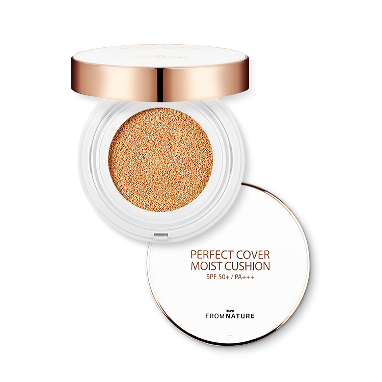 1+1 Perfect Cover Moist Cushion SPF 50+/PA+++ (Expiry Date 2021.10)