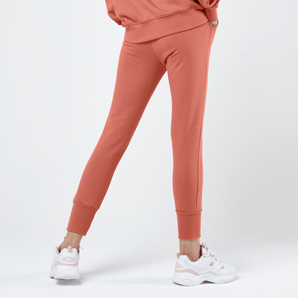 Icon logo jogger pants <br> Sweet Orange