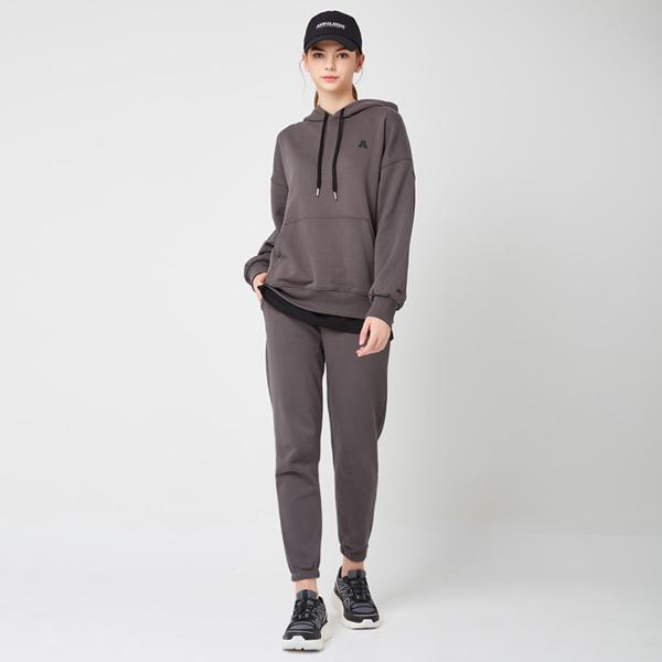 All Day Basic<br> Hood Jogger Pants Set<br> Urban Gray (Unisex)