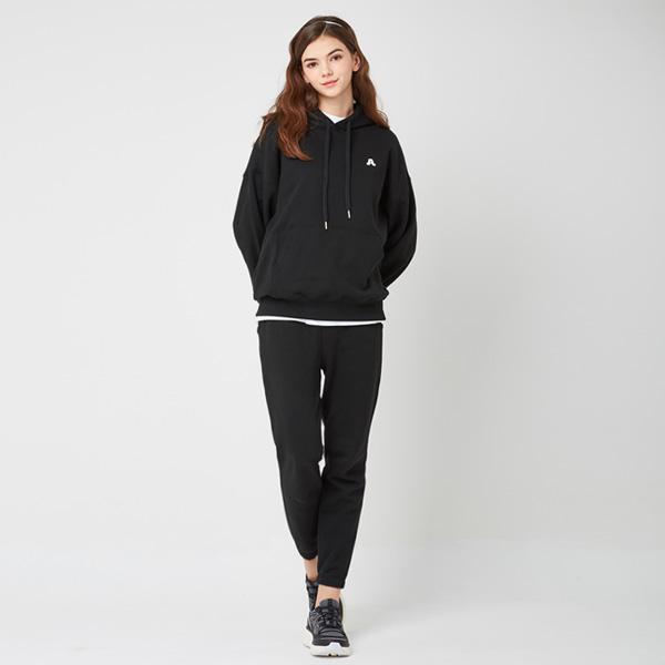 All Day Basic<br> Hood Jogger Pants Set<br> Black (unisex)