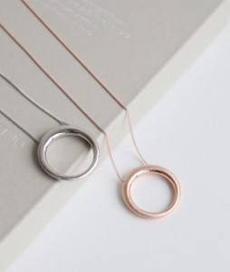 <br> Circle Necklace <br><br>