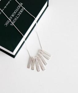 <br> Silver Piano Necklace <br><br>