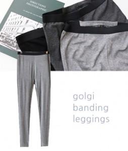 <br> Soft Corrugated Banding Leggings <br><br>